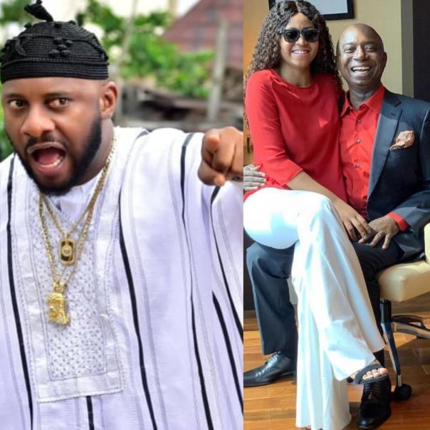 Nigerians Curse Yul Edochie For Supporting Regina Daniels Marriage