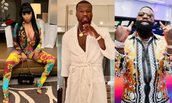 50 Cent Reacts To Nicki Minaj Blasting Rick Ross (2)
