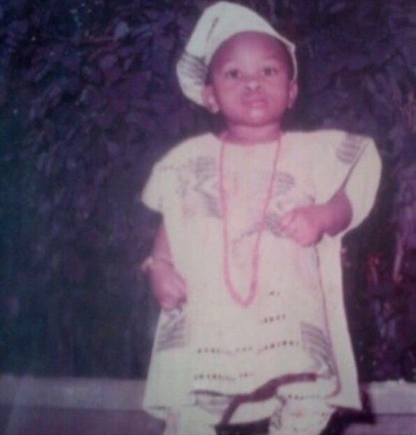 Olakunle Churchill Throwback To When He Was A Child (2)