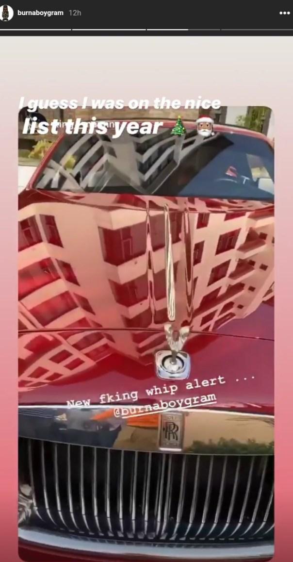 Burna Boy Rolls Royce (4)