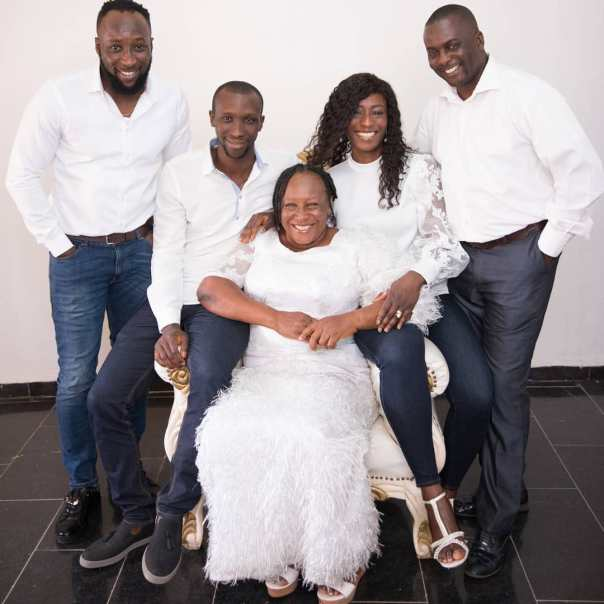 Patience Ozokwor Poses With Her Children In New Year Photo (2)