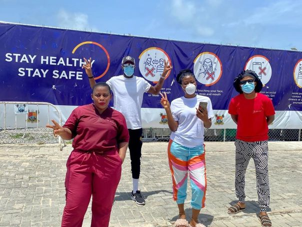 Sophia Momodu Supporting Healthcare Workers And Staff (2)