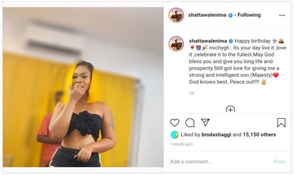 Shatta Wale Wishes Michy Happy Birthday (2)