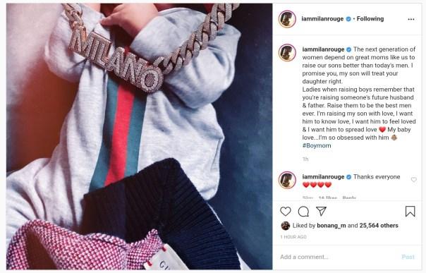 Meek Mill's Baby Mama Milan Harris Talks Raising Boys (2)