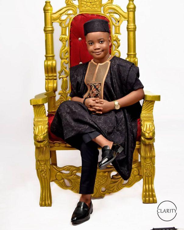 Bisola Badmus Son Malik Marshal 8th Birthday (4)