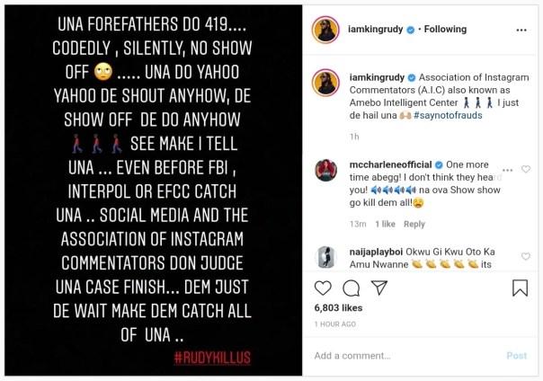 Social Media Amebo Intelligent Center Judge 419 Show Offs Paul Okoye (2)