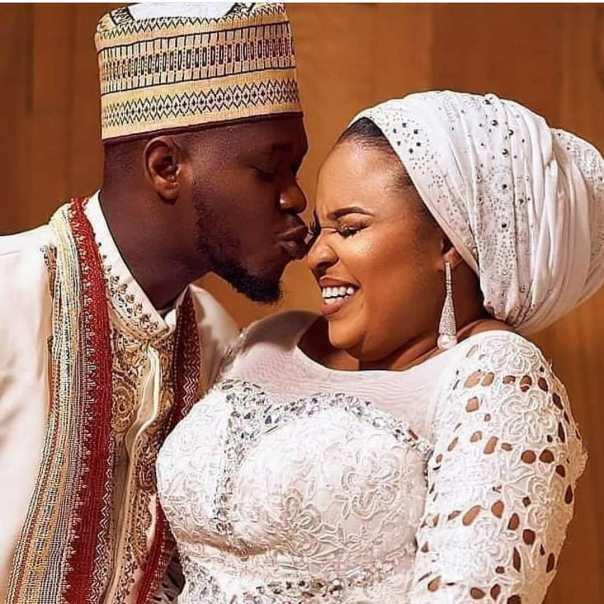 Okiki Afolayan Kisses Wife Bimbo