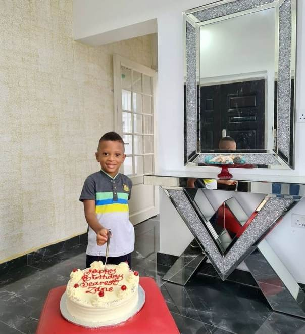 Yul Edochie Wishes His Fourth Child Zane Happy 3rd Birthday (2)