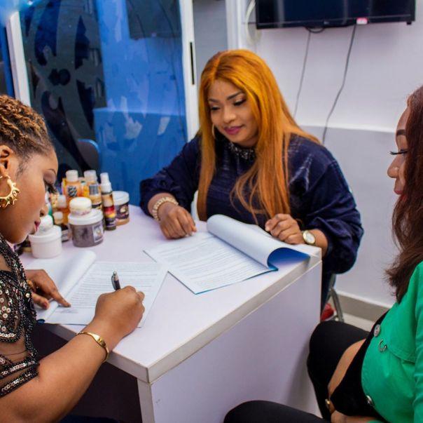 Laide Bakare Brand Ambassador Beautification Company