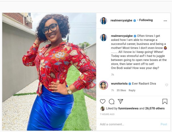 Mercy Aigbe Successful Career Business Being Mother Same Time (2)