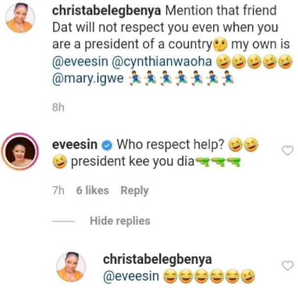 Eve Esin Will Not Respect Me If I Am President Christabel Egbenya (2)