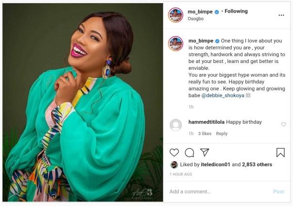 Adebimpe Oyebade Celebrates Deborah Shokoya Birthday (2)