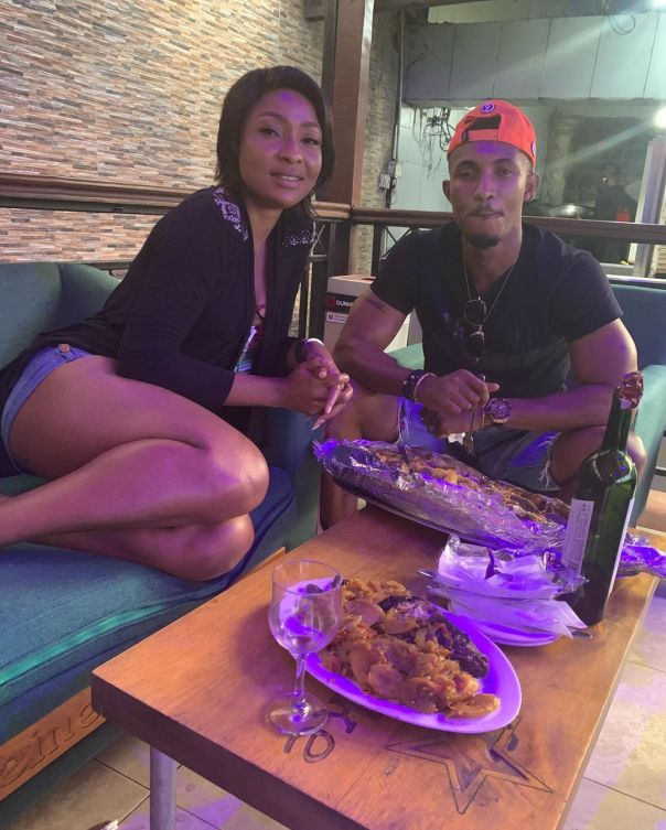 Belinda Effah And Gideon Okeke Hang Out (2) Amebo Book