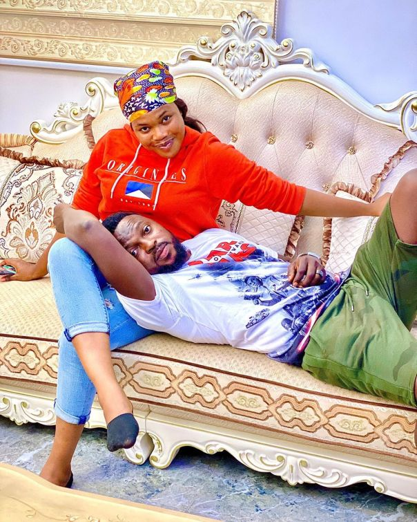 Kolawole Ajeyemi Head On Debbie Shokoya's Thighs (2) Amebo Book