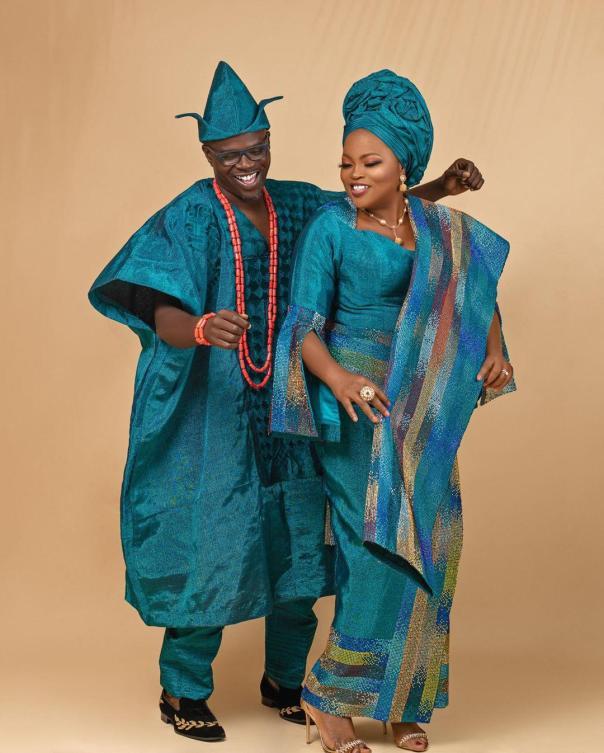 Funke Akindele Husband JJC Skillz 4th Year Wedding Anniversary (2) Amebo Book