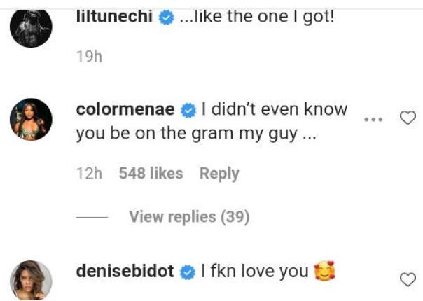 Reginae Carter Reaction Lil Wayne And Girlfriend Instagram Loving (2) Amebo Book