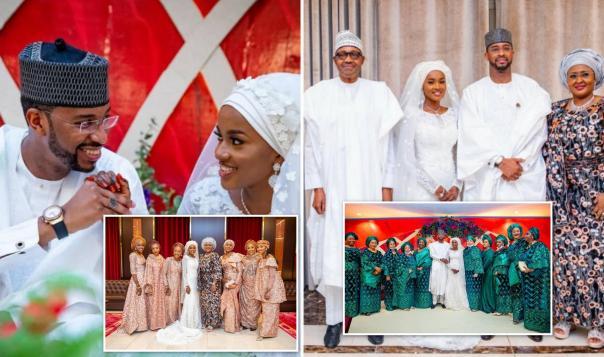 More Stunning Photos From Buhari's Daughter Hanan's Wedding