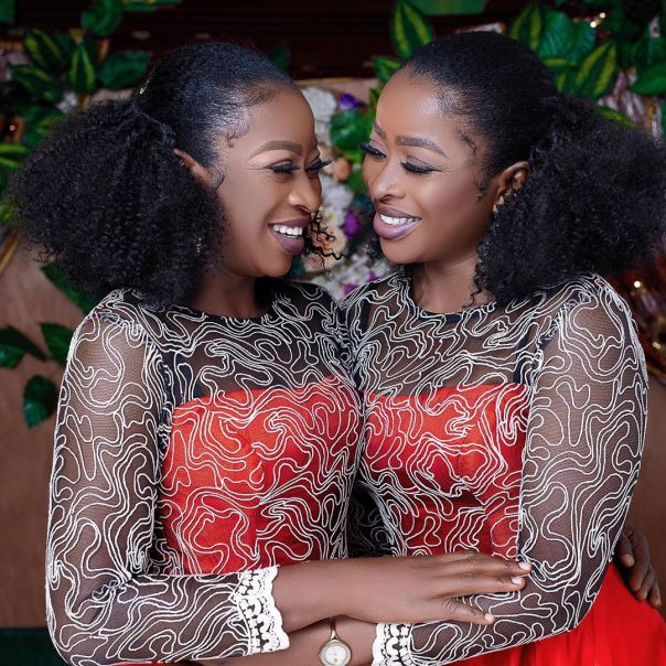 Aneke Twins Embracing Each Other