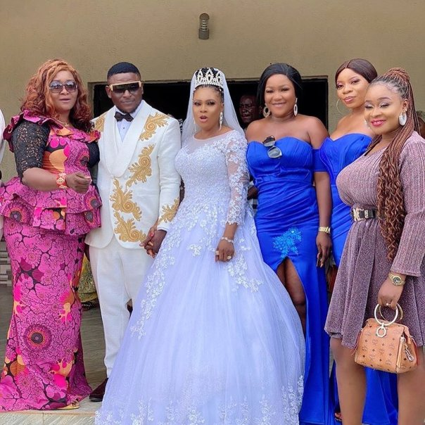 Tim Ebuka And Ifunanyachukwu yvonne Damian Wedding (2) Amebo Book
