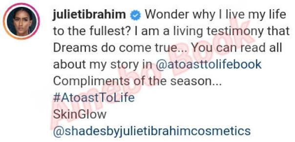 Juliet Ibrahim Living Testimony Dreams Do Come True (2)