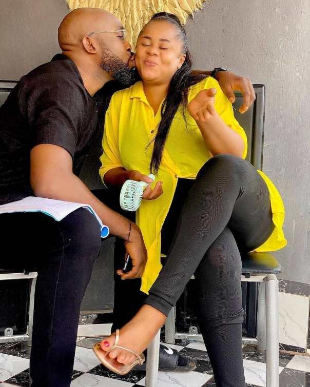 Stanley Igboanugo Kissing Uju Okoli The Guest Movie