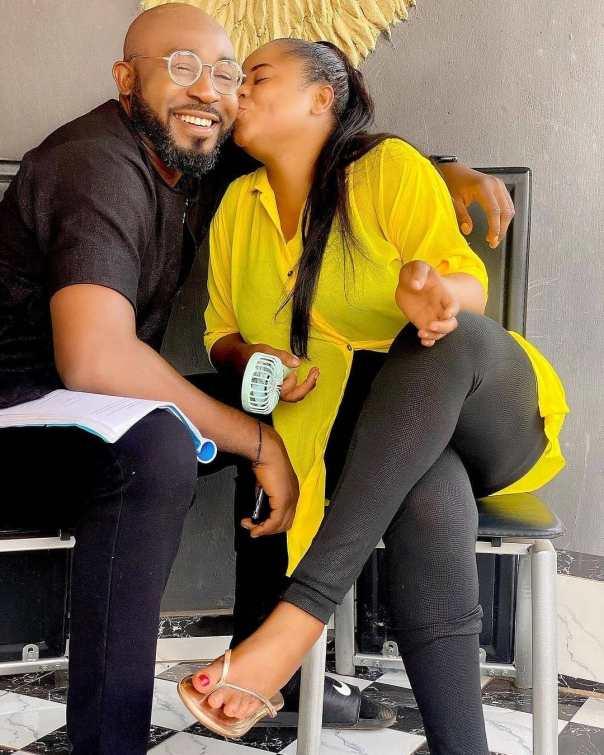 Uju Okoli Kissing Stanley Igboanugo The Guest Movie
