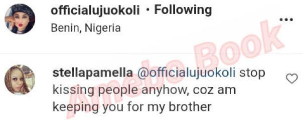 Lady Keeping Uju Okoli For Her Brother (2) Amebo Book