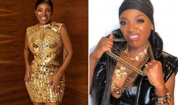"""""""I Am A Queen But I Can Be A Gangster Too So Don't Push Me"""" – Tuface's Wife And Nollywood Actress Annie Idibia Says"""
