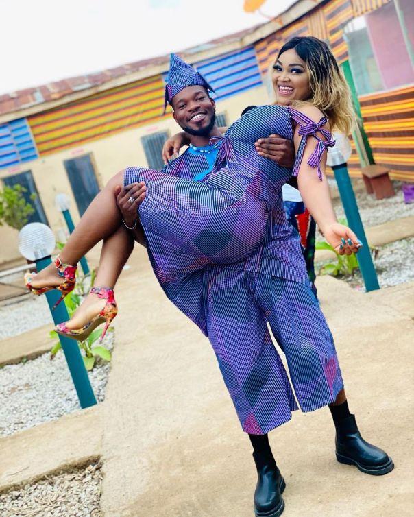 Broda Shaggi D'Owner Mercy Aigbe (4) Amebo Book