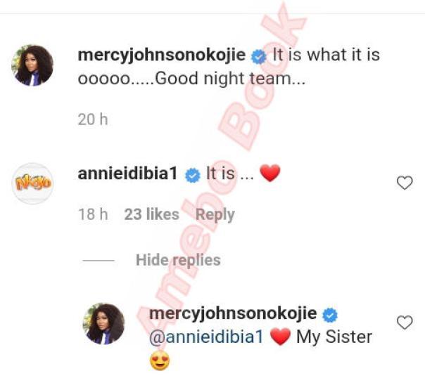 Mercy Johnson And Annie Idibia Sisterly Love (2)