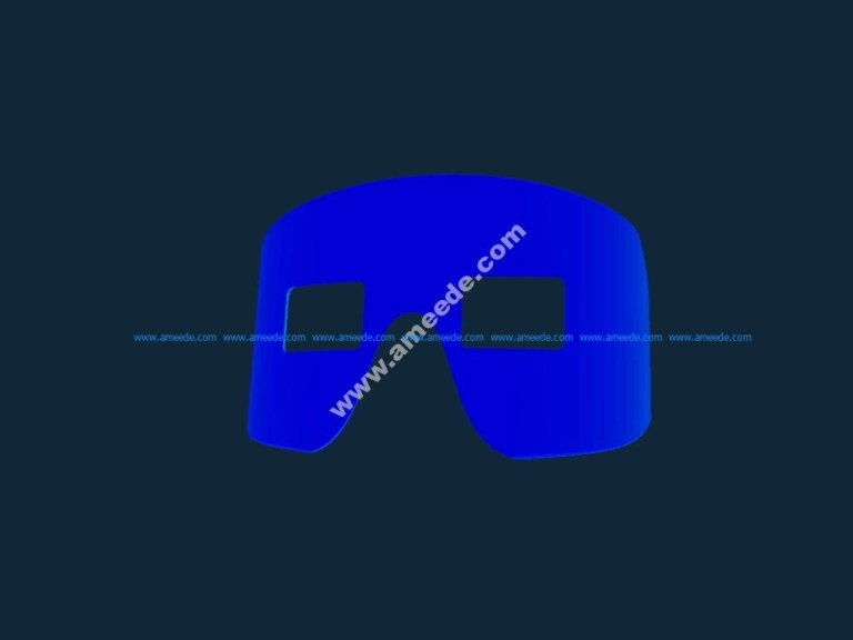 Face plate stl file