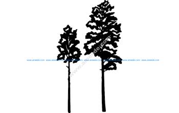 Aspen Tree Vector