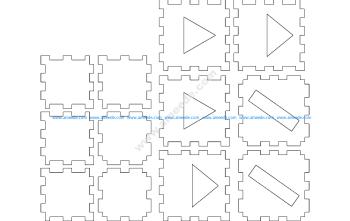 Laser Cube 2 Layer Basic