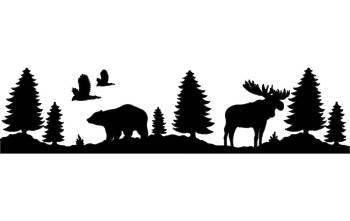 bear and moose