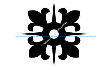 Grille Pattern Design Flower Patel