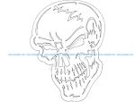 Badass Skull Fraser