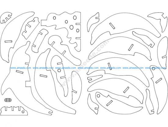 Delfin 3D Puzzle
