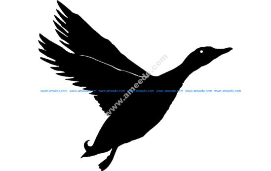 Duck Silhouette