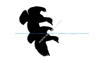 Ducks Flying Cut