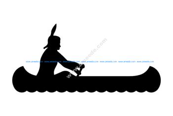 Indian Canoe