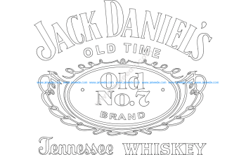Jack Daniel's Tennessee Whiskey logo