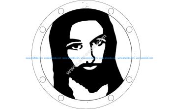 Jesus Sillhouette