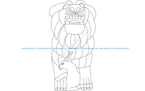 Palmyra Lion of al-Lat