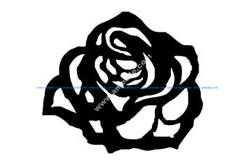 Rosa 80×70 Mdf 6mm f3mm