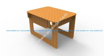 Simple Table 6 Mm Mdf