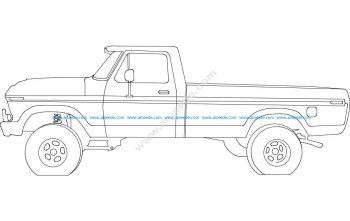 78 Ford Pickup 17 inches