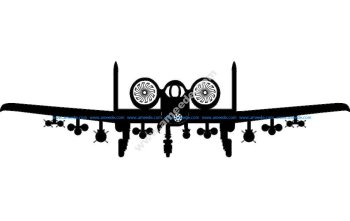 A10 Aircraft Front