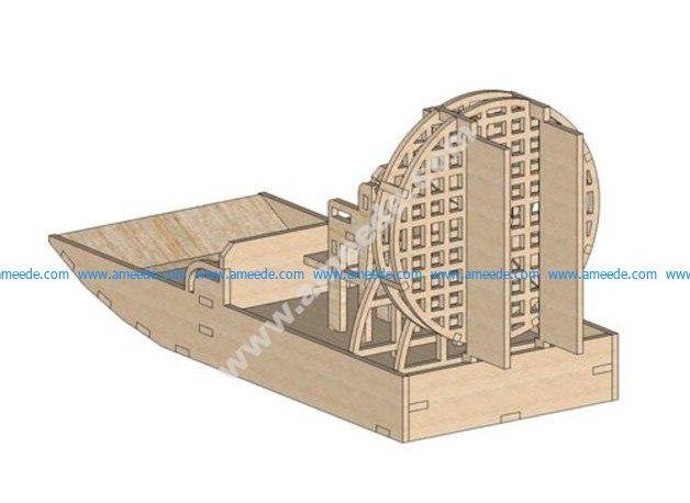 Air Boat Laser 12 Mm