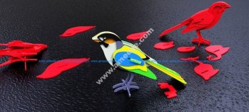 Bird 3D Puzzle