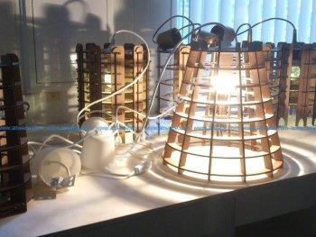Cardboard Lamp Shade